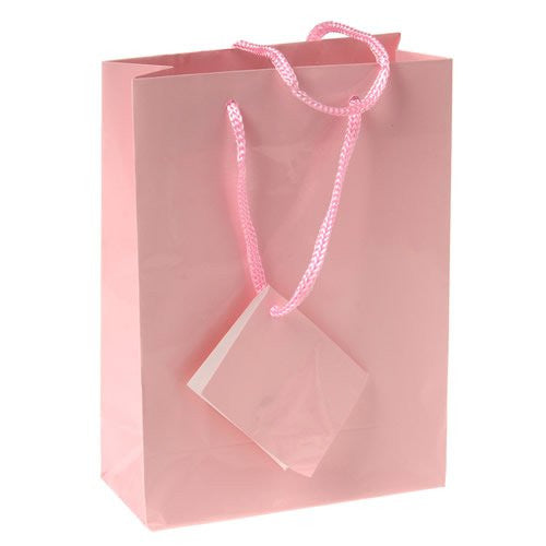 SMALL GIFT BAGS/PINK - 12pcs