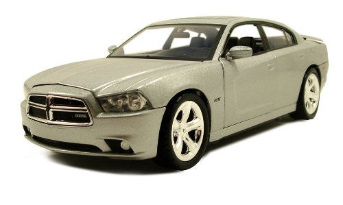 Motormax - Dodge Charger Hard Top (2011, 1/24 scale diecast model car, Silver)