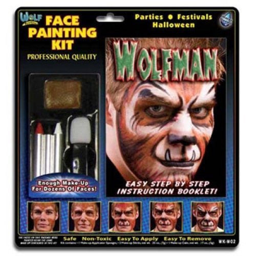 Wolfman w/ step-by-step book