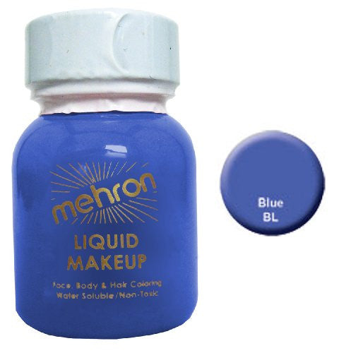Liquid Makeup - Blue (1 oz.)