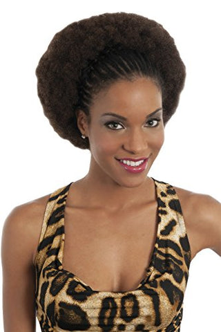 Vivica A Fox Hair Collection HKBK16-V Human Hair Afro Curl Kinky Bulk Extension, 6, 5.8 Ounce