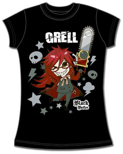 Black Butler Sd Grell JRS T-Shirt S