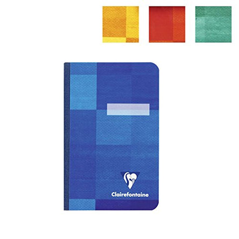 Clairefontaine Classic Notebooks Side Clothbound 6 3/4 x 8 3/4 French Assorted Covers 96 sheets