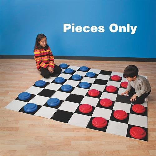 Jumbo Checker Pieces (Pack of 24)