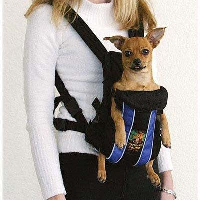 "Outward Hound Legs Out Front Carrier Small Blue 10"" x 8"" x 4"""