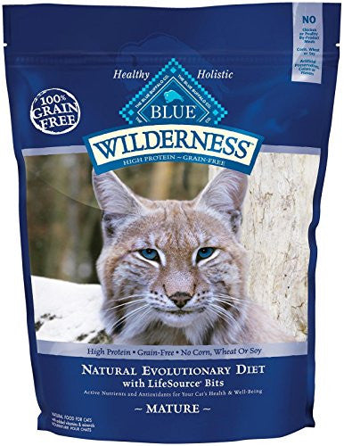 WILDERNESS CAT MATURE XX G F 5LB BG