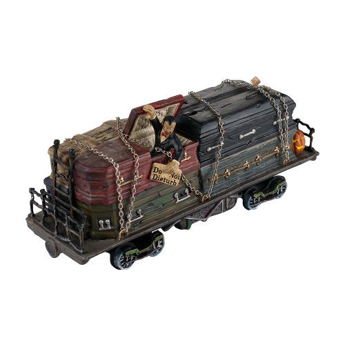 Department 56 Haunted Rail Sleeper Car