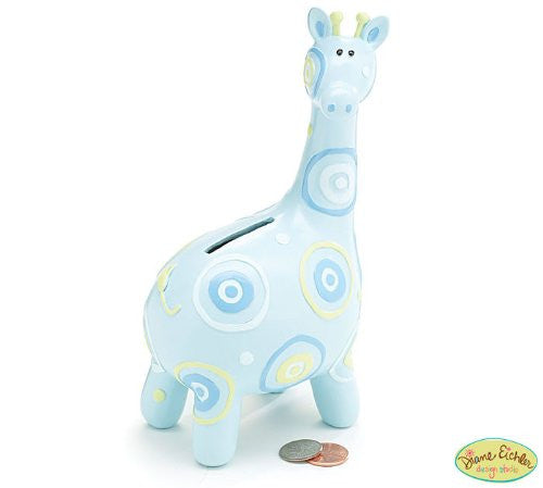 BANK BLUE GIRAFFE