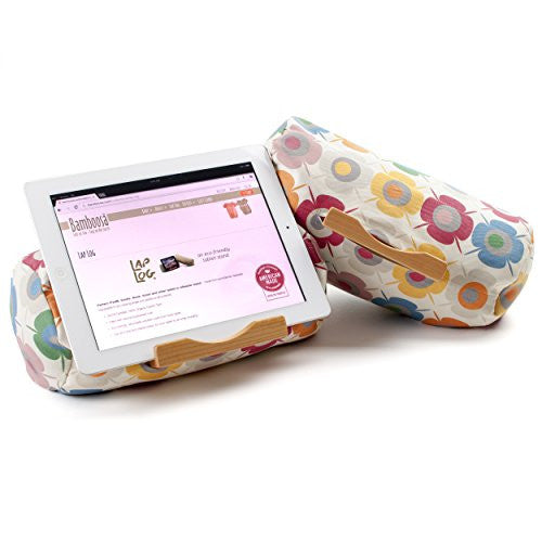 Lap Log Classic- iPad Stand / Touchscreen Tablet Holder (Eco Garden)