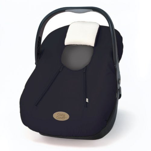 Cozy Cover (fall/winter car seat carrier cover) - Black