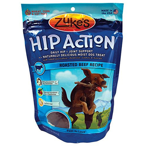 Hip Action Dog Treats - 1 lb. - Beef