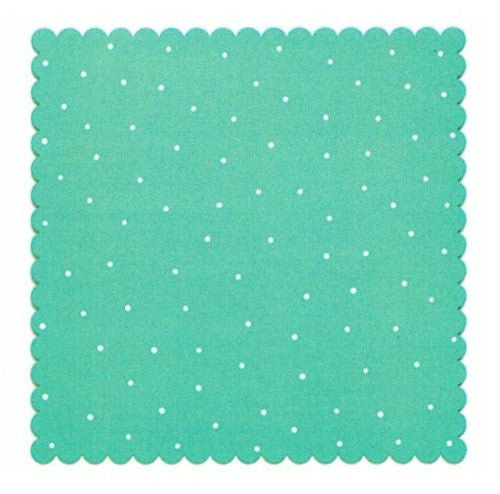 "Embellish Your Story Teal/White Magnetic Memo Board - 16""sq."