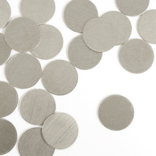 "Circle, 1/2""- Stamping Blank - Nickel Silver (24 pc)"