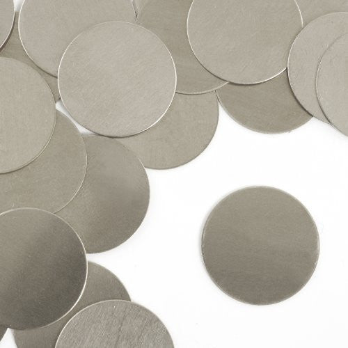 "Circle, 1""- Stamping Blank - Nickel Silver(24pc)"