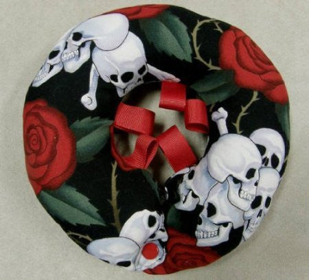 Skulls and Roses Puppy Bumper® Up to 10""