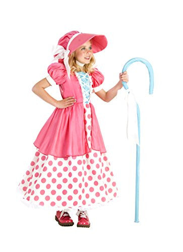 Polka Dot Bo Peep Dress, Bloomers & Bonnet L(10)