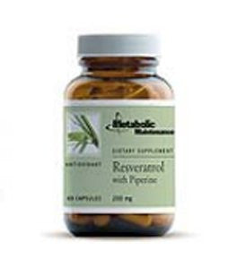 Resveratrol with Piperine 200 mg 60 Capsules