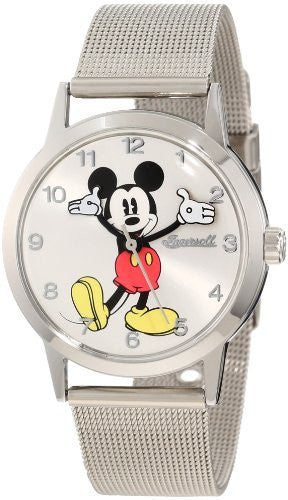 Ingersoll Unisex Disney Classic Time Mickey All Day Milanese Watch