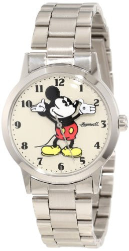 Ingersoll Watches All Day Mickey Watch, Bracelet-Cream Dial