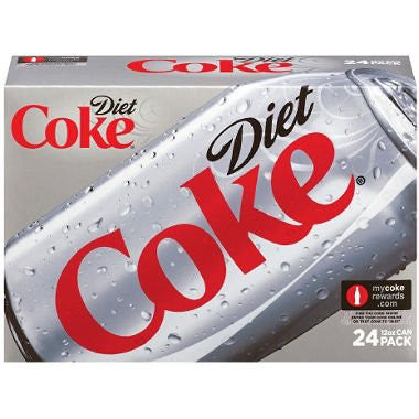 Diet Coke®, 12 Oz. Cans, 24/Ct