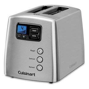 Cuisinart 2-Slice Touch-To-Toast Leverless Toaster - Stainless