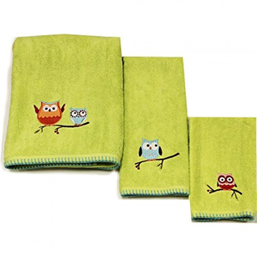 Hooty Bath Towel