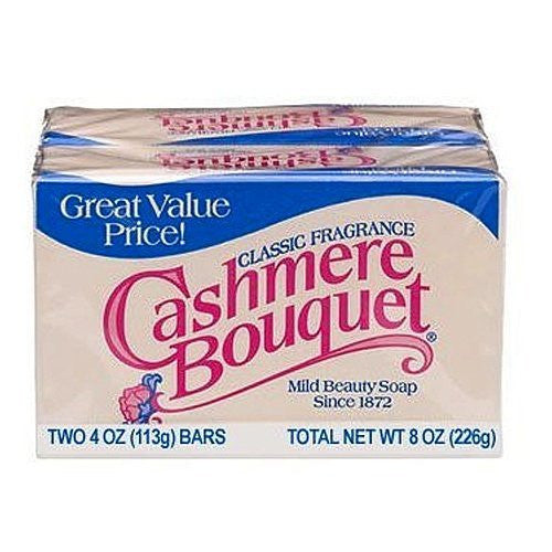 Cashmere Boutique Bar Soap - 4 oz 2/pack