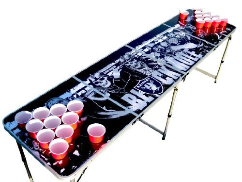 Oakland Raiders Beer Pong Table