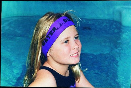 Water Gear Neoprene Head Band for Swimming - Blue