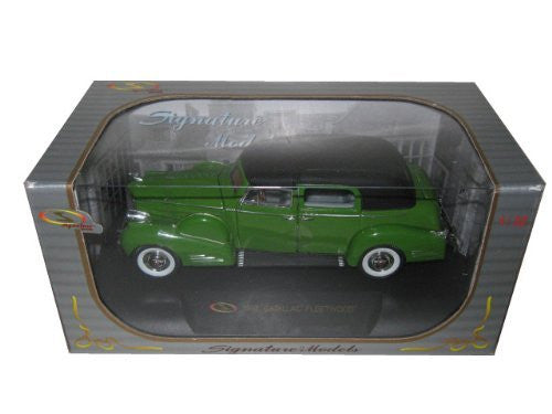 Signature Models - Cadillac Fleetwood (1938, 1/32 scale diecast model car, Green)