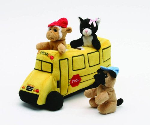 "10"" School Bus Finger Puppet"