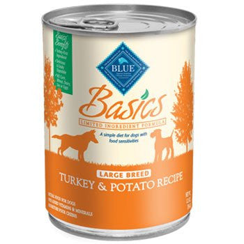 BASICS LG BREED TURKEY DINNER 12X12.5OZ