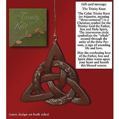 Trinity Knot Ornament and Card