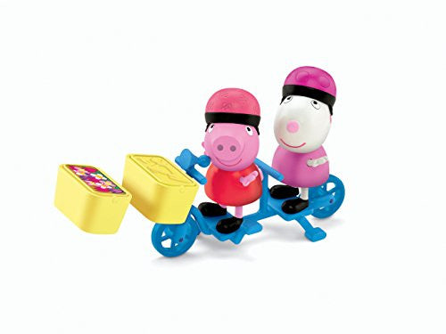 "Peppa Pig - 3"" 2-Pack Assortment (Susy Sheep Bicycling Together)"