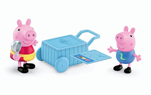 "Peppa Pig - 3"" 2-Pack Assortment (Peppa & George Ice Cream Time)"