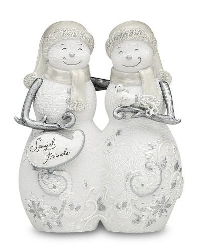 "Special Friends 5"" Snowmen Hugging"