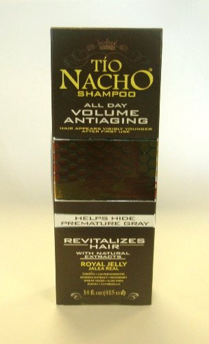 Tio Nacho Shampoo Antiage (Brown) 14 oz