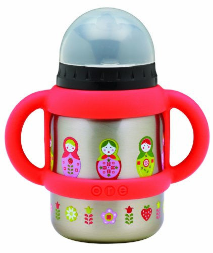 SugarBooger Flip and Sip Container (Color: Matryoshka Doll)