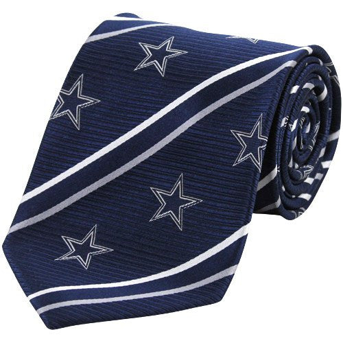 Dallas Cowboys Tie Cambridge Stripe