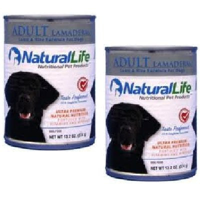 Natural Life Dog Food, Canned Lamaderm (13.2 oz.)