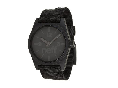 Men's Daily Woven Watch - BLACK