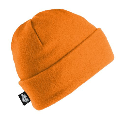 Original Turtle Fur Fleece - The Hat, Heavyweight Fleece Watch Cap Beanie (Blaze / One Size)