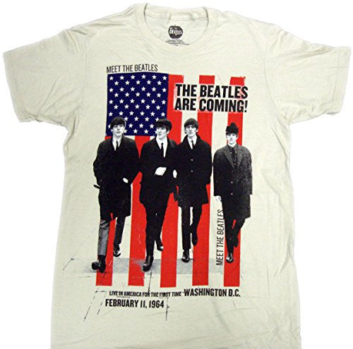 The Beatles Are Coming T-Shirt Size XL