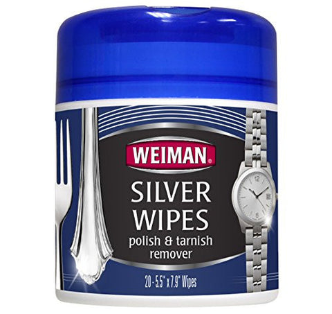 Weiman - SILVER WIPES 20ct. Canister