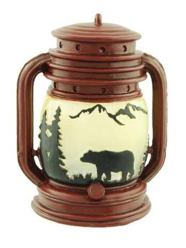 Lantern With Bear And With Lite Holder