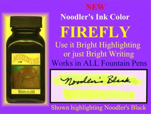 Firefly Yellow Highlighter  3 oz