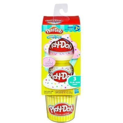 PLAYSKOOL PLAY-DOH SWEET SHOPPE 3 PLAY-DOH CANS-Sprinkles