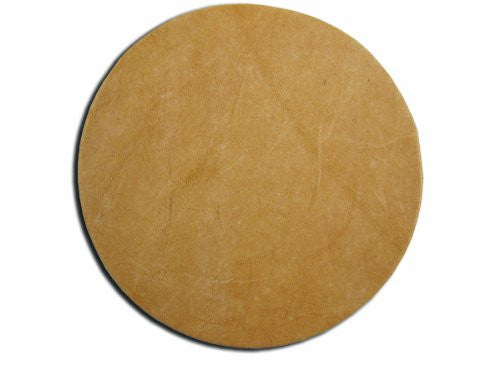 "Leather Shape 3-1/4"" - Rounder (Pack of 25)"