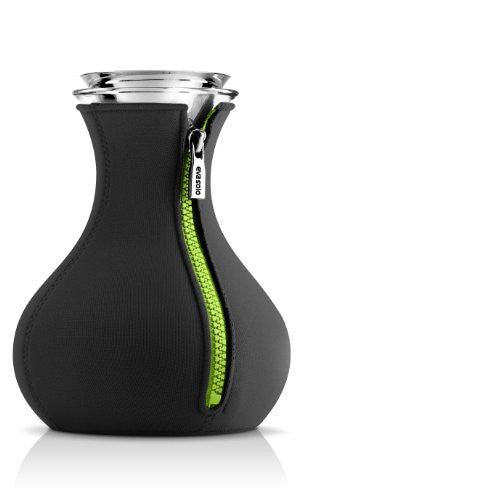 Tea Maker with Neoprene Cover, Black/Lime - 1.0L