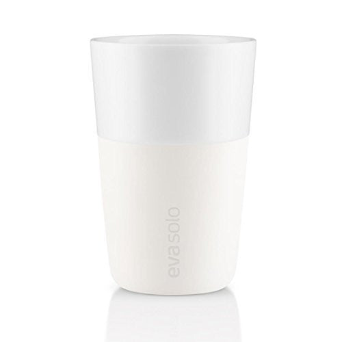 Café Latte Tumbler, 2pcs., Ivory White - 360ml